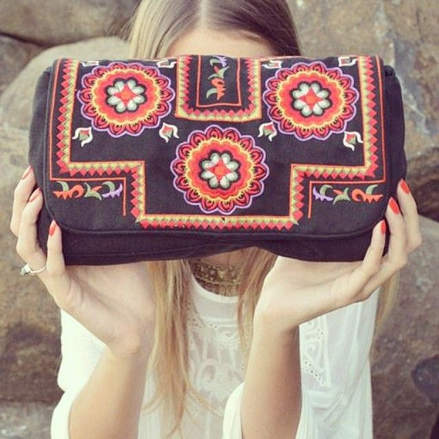 thefreedomstateonline: Cute bags are online with folkloric inspired embroidery. (at www.thefreedomstate.com.au)