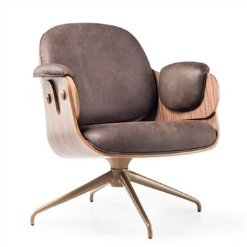 BD Barcelona Low Lounger - Swivel - Style # LowLoungerSwivel, Modern Armchair - Contemporary Armchair - Leather Armchair - Swivel Armchair | SwitchModern.com