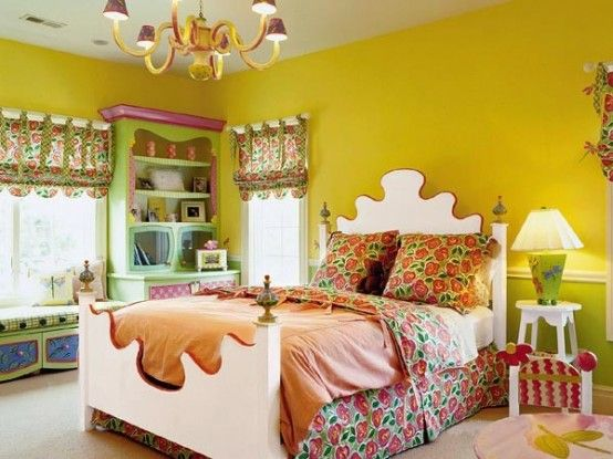 Girl Bedroom Ideas Yellow 66 best girls' rooms: julie & alex images on pinterest | bedding