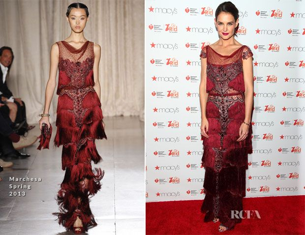 Katie Holmes In Marchesa – Go Red for Women Dress Collection 2017