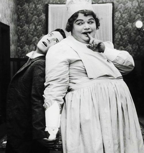 Image result for fatty arbuckle good night nurse
