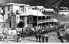 Walhalla - historic gold  mining town in the mountains of Victoria.