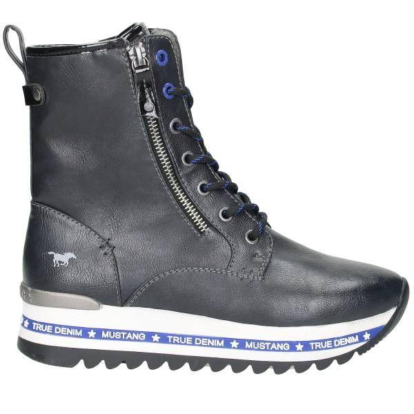 mustang high top sneakers