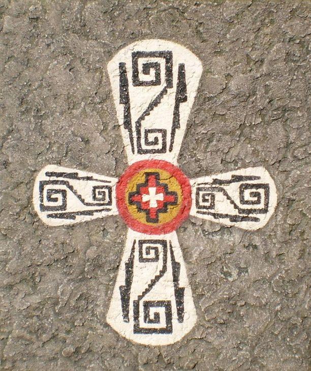 Culturas precolombinas . CHACANA - AYJAÑA - HUILLOZ