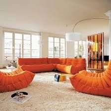 togo ligne roset (but might be too hard on knees)