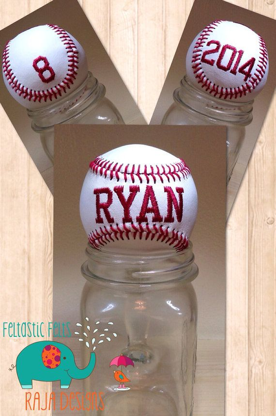 Hey, I found this really awesome Etsy listing at https://www.etsy.com/listing/191547583/customized-embroidered-baseball