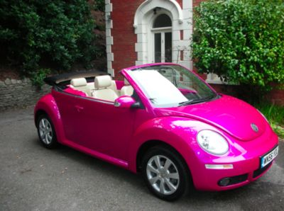 Awesome summer car! In my favorite color too!!: Vw Beetles, Pink Cars, Vw Bugs, Volkswagen Beetles, Dream Cars, Hot Pink, Future Cars, Convertible, Dreams Cars