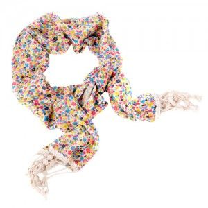 Multicoloured Scarf (Floral Print) WAS $10.95 NOW $6.95