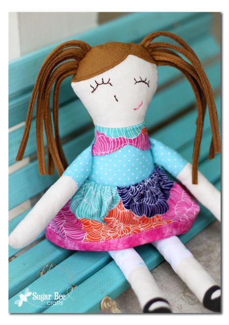 Ruby Lou Doll Pattern review: Toy Patterns, Craft, Doll Patterns, Handmade Dolls, Handmade Gift, Pattern Review, Diy