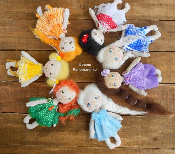 #Minidolls #Art #doll #Collectable doll #Decor doll #Home