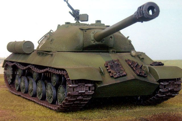 IS-3 (JS-3 - Joseph Stalin 3) | USSR  Very innovative tank for its time, dureing the course of WWII it's front armor was never penatrated by Axis powers; IS-3 also lived as a very succesful Heavy tank up until the uprise of MBTs