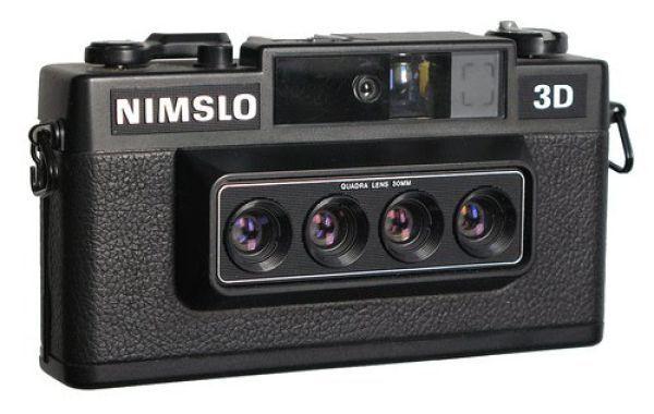 Nimslo35mm 3D camera