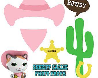 Sheriff Callie Birthday Printables
