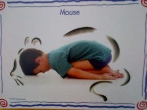 Great tips on self-regulation/calming poses for children.