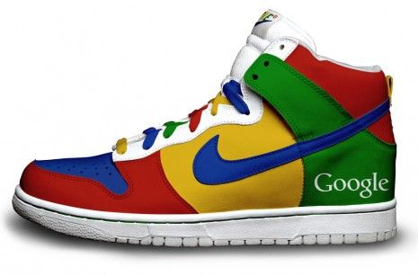Nike Sneakers aux couleurs de Twitter, Google et Firefox