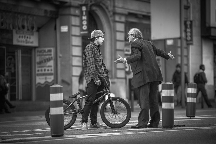 Nil Soler is a BMX rider from Barcelona but not everybody in the city is as appreciative of his skills!