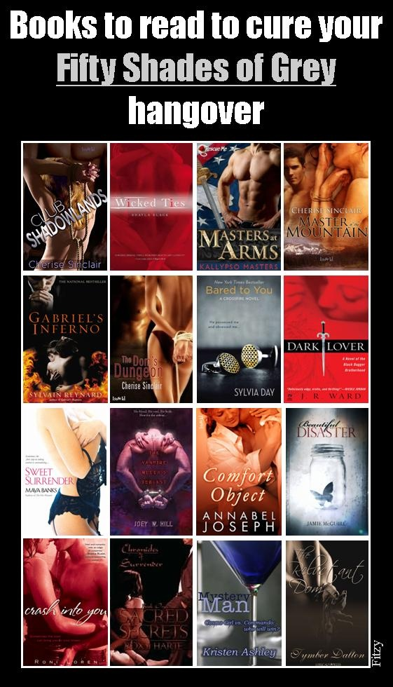 What to read to cure your Fifty Shades of Grey hangover