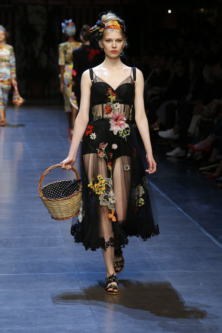 ItaliaIsLove Dolce&Gabbana Spring Summer 2016 Women's ...