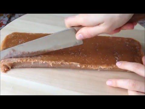 Карамельные конфеты Ириски - YouTube