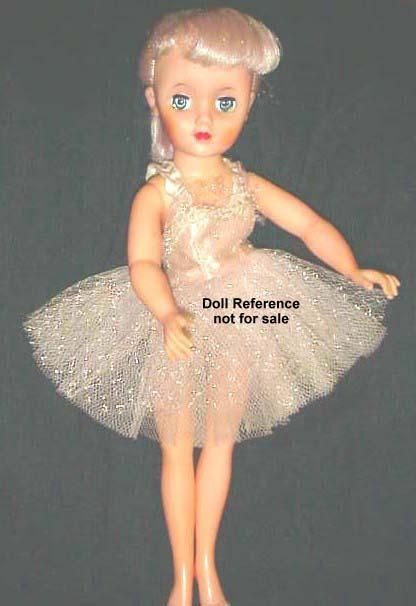 the holy grail of miss revlon dolls  18 u0026quot  ballerina with factory pink hair  1958