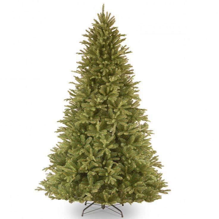 8ft Tiffany Fir Feel-Real Artificial Christmas Tree