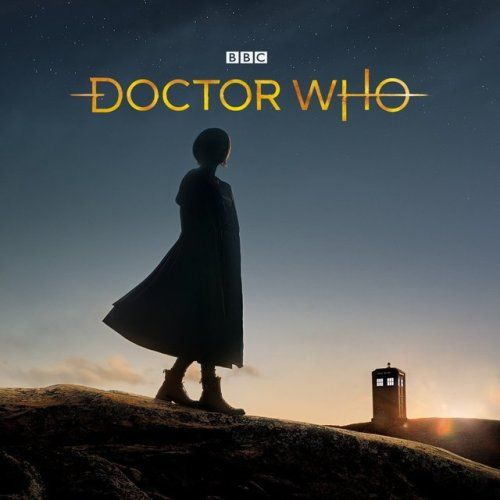New Doctor Who logo 2018! Thirteenth Doctor. 13th Doctor. Jodie Whittaker.
