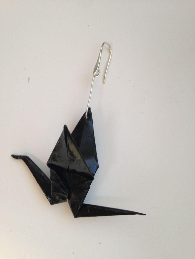 Mono orecchino origami