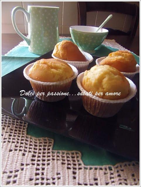 Dolci per passione...salati per amore: Muffins al limone