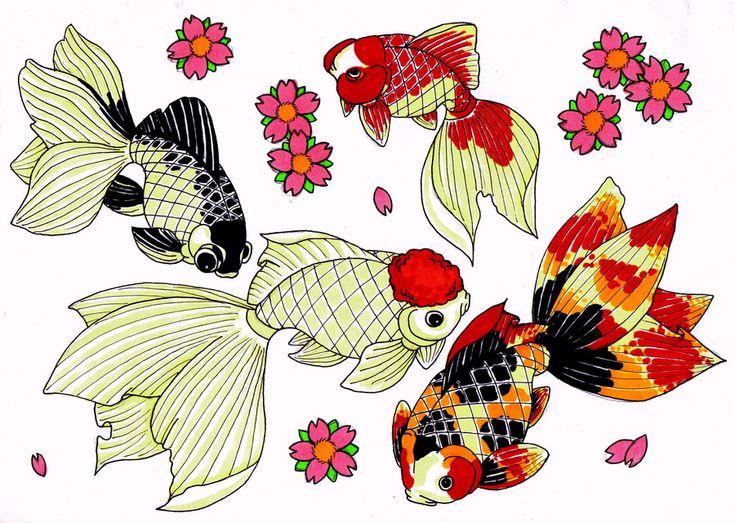 goldfish japanese flash sheet by modifiedMONSTER.deviantart.com on @deviantART