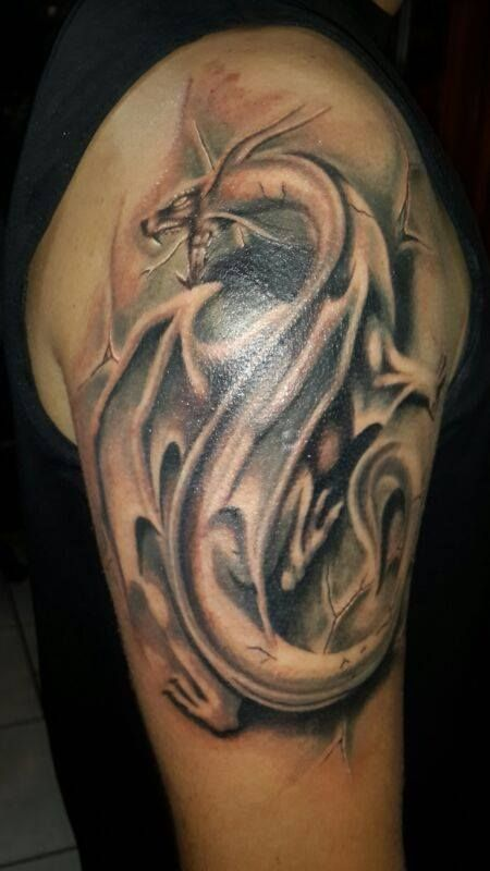 102 best images about tattoos x esteban molina on for Medieval dragon tattoo