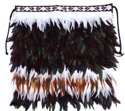 Baby or Child Maori Korowai Cloak - feathers, korowai, cloak, made, beautiful, maori, ... - Shopenzed.com
