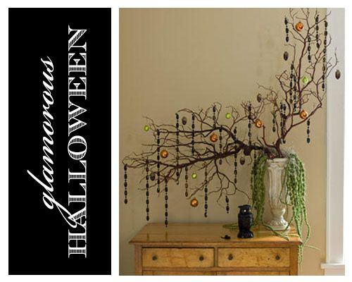 sophisticated halloween centerpiece - Sophisticated Halloween Decorations