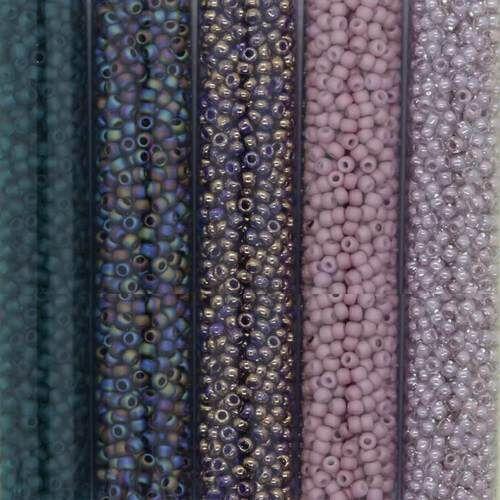 Olive Green Toho Japanese Seed Beads 10g Size 11//0 2.2 mm