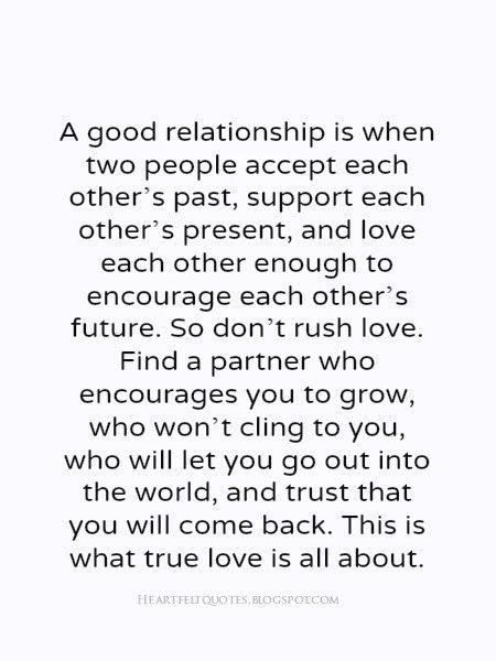 A Good #relationship love quotes