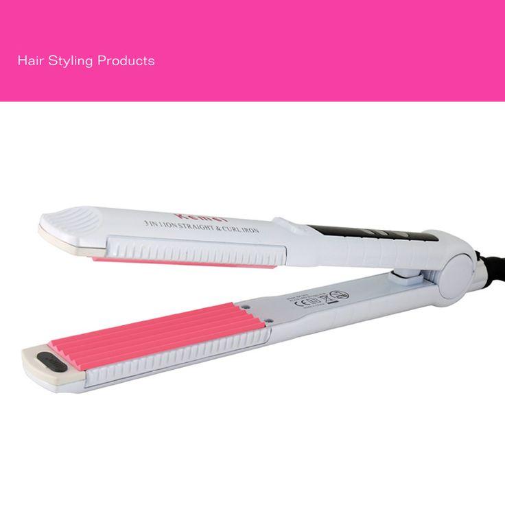 2015 novo LCD Display de temperatura ferros alisamento escova de cabelo alisador de ferramentas de estilo profissional alishoppbrasil