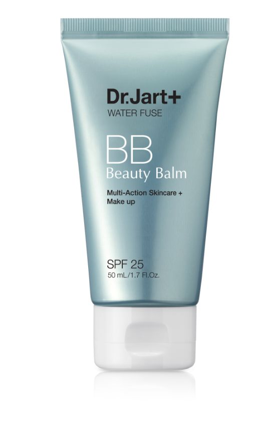 Dr. Jart+ Water Fuse Beauty Balm SPF 25 PA++. It's like a big glass of water for your skin!