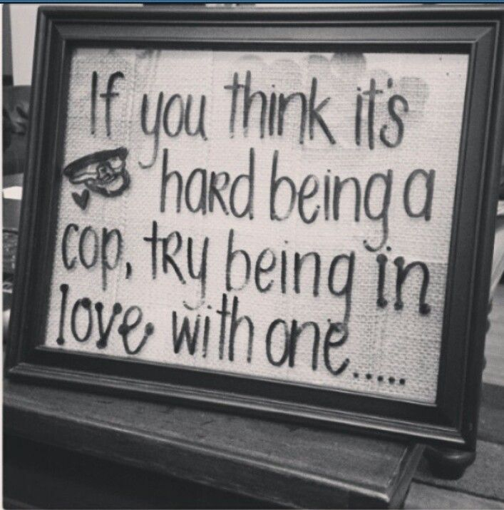 I need to make one of these! Except with deputy instead of cop