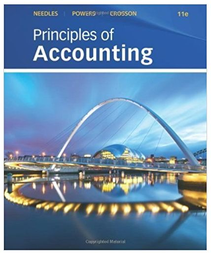 Find all textbook answers from Principles of Accounting