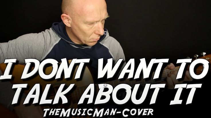 Rod Steward - I don´t want to talk about it | Cover von TheMusicMan | 1 ...