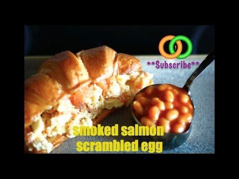 HOW TO MAKE SMOKED SALMON SCRAMBLED EGGS FOR BREAKFAST