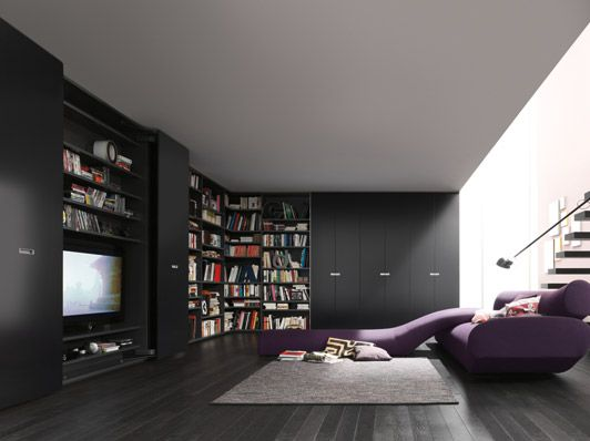 Modern Wardrobe Wall Storage System   40S by Interluebke   FURNISHism. 36 best Bedroom Wall Units images on Pinterest   Bedroom wall