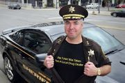 Saginaw County Sheriff William Federspiel is one of the speakers who will address thousands of marijuana advocates on Saturday, April 4, during Hash Bash 2015 at the University of Michigan Diag.