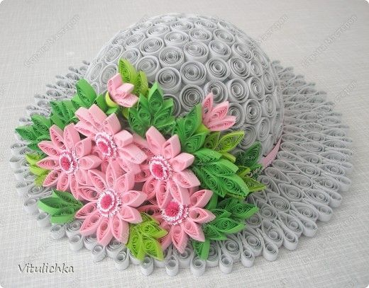 Handicraft product More Quilling Paper hats band photo 6