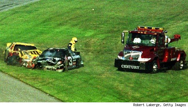 Dale Earnhardt Death Car | death on the autopsy report is listed ask blunt force