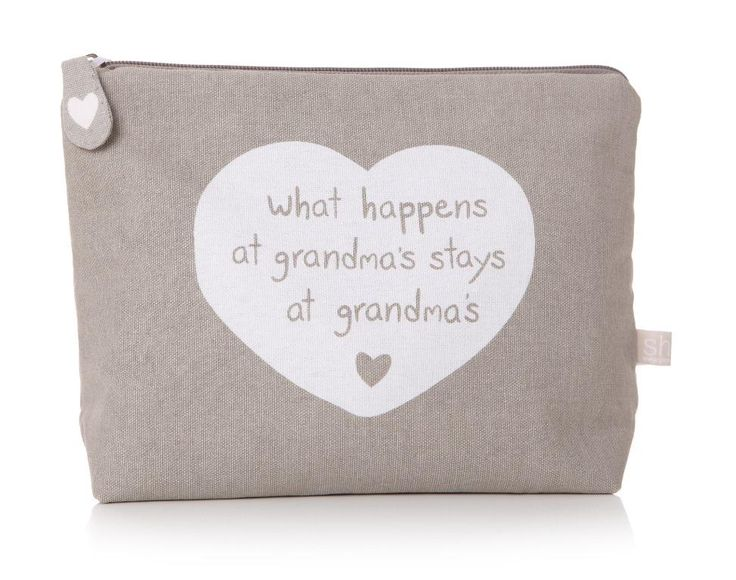 Grandma's Wash Bag