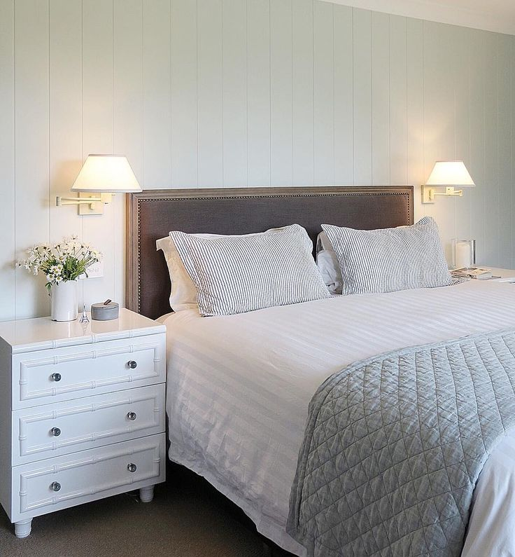 Bedroom By Cottonwood Interiors. Nightstands From Worlds