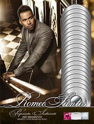 http://ift.tt/2je3GAM http://ift.tt/2k19nPD  Promise de Romeo Santos feat. Usher Es Certificado 19 veces Platino.  Romeo Santos El Rey de la Bachata ya tiene el récord de Mayor Cantidad de Éxitos #1 Por Un Artista Latino En Los 2010s. Ahora se suman otros reconocimientos a su lista de logros.  Él ha sido nombrado uno de los tres artistas en la historia de la música latina de hacerse acreedor de un reconocimiento RIAA Latino Diamante (10x multi-Platino y contando por superar 600 mil…