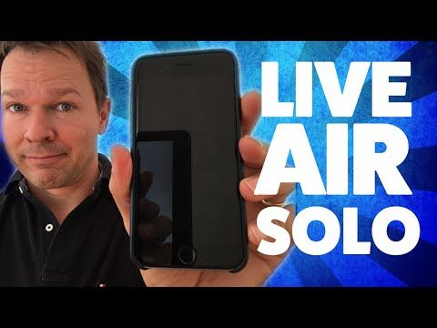 Live Air Solo App Review - Mobile Live Streaming Like A PRO! - YouTube