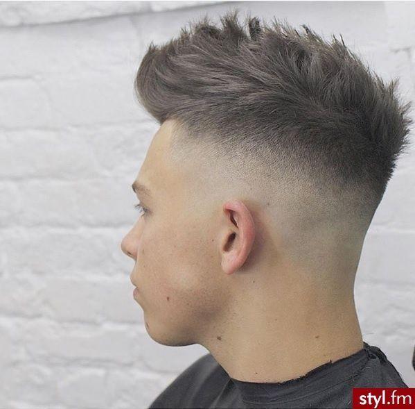 Krótkie Męskie Fryzury Shaved Sides In 2019 Hair Cuts Mens