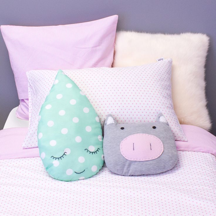 Lush Pink Point girls bedding sets in single or 3/4.
